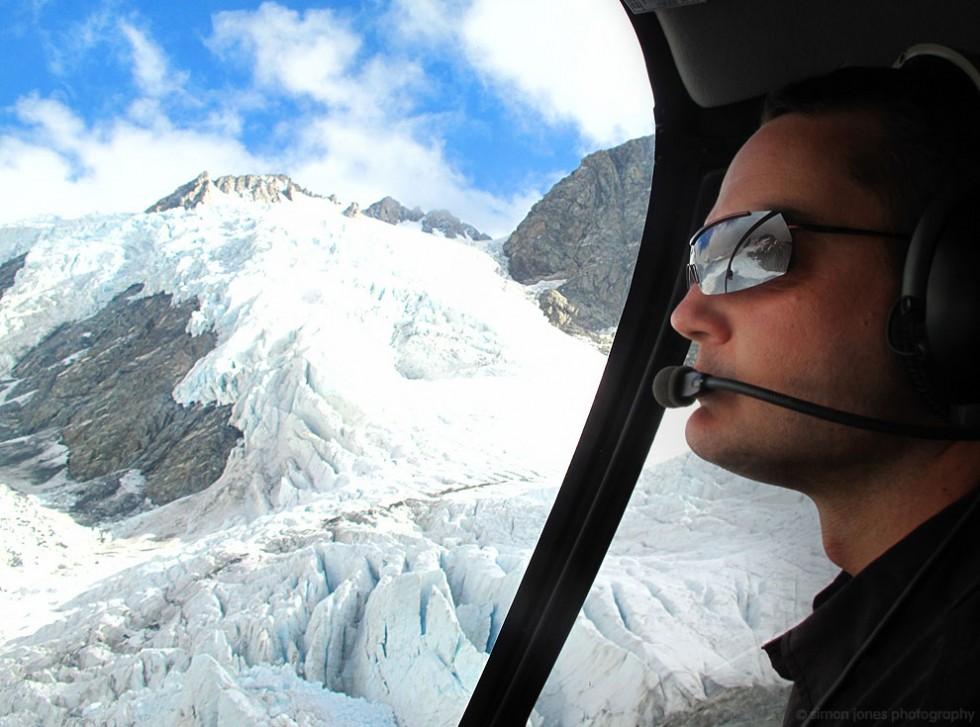 Helicoper over Franz Josef