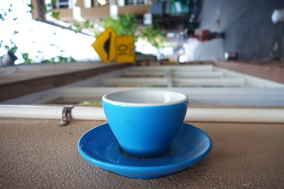Coffee on a wall?