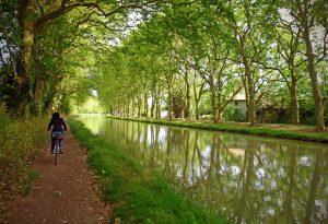 Canal du Midi bike ride