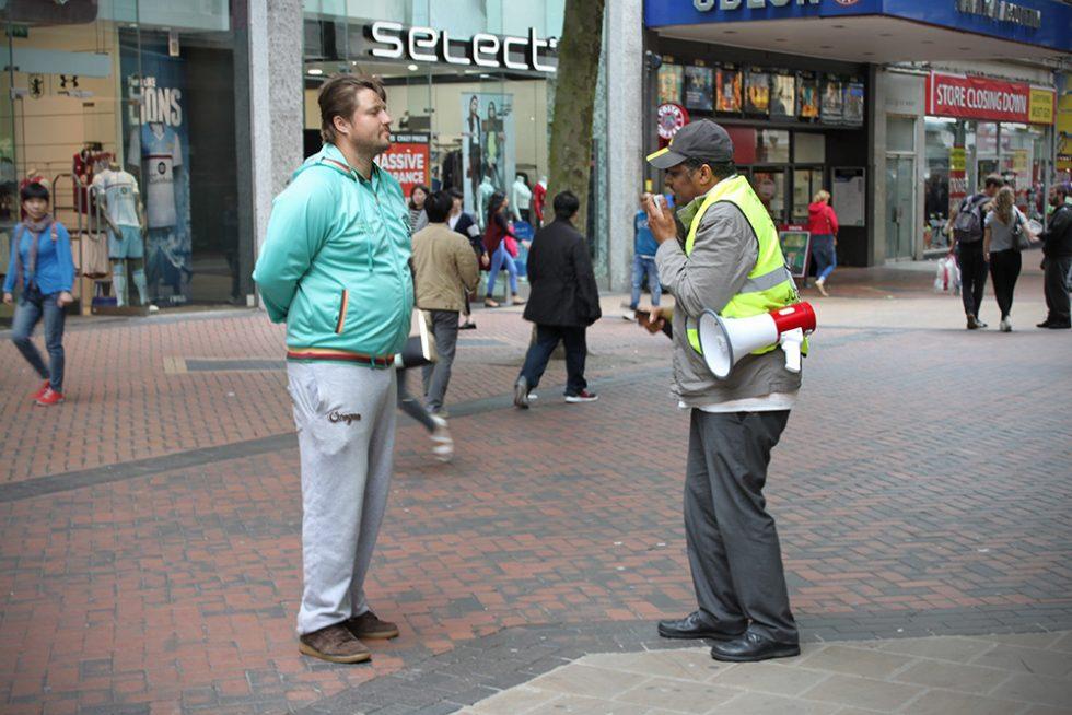 UK Street preacher
