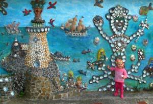 Little Grace at Scorch-O-Rama, Scorching Bay, Wellington, New Zealand.