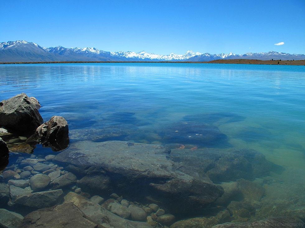 Lake Pukaki, New Zealand.