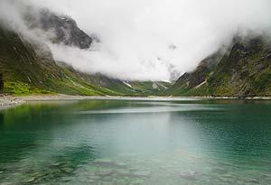 Lake Marian, New Zealand
