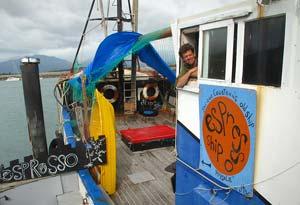Jacques Cousteau Pirate Espresso Ship