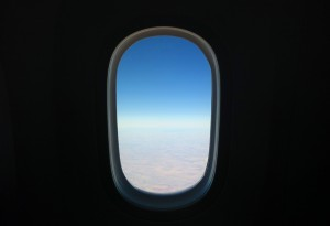 Boeing 787 window
