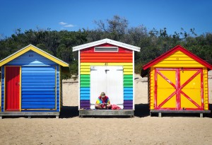 Rainbow beach box