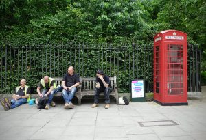 London work men