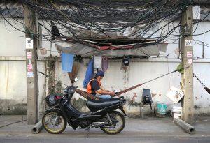 Bangkok mototaxi